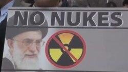 تجمع موافقان و مخالفان نتانیاهو در واشنگتن