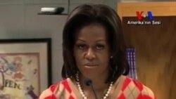 Michelle Obama'nın Hedefi Yine Obeziteyle Mücadele