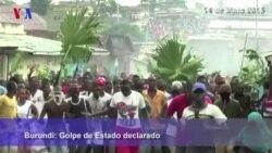 Bujumbura em Estado de Sítio após declaração de golpe de Estado