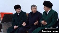Prezident Mirziyoyev diniy yetakchilar bilan, 2018