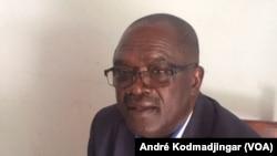 Mbairemtar Prosper, député à l'Assemblée nationale, novembre 2019. (VOA/André Kodmadjingar).