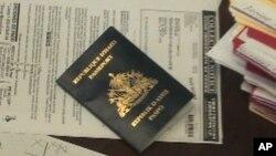 Haitian passport