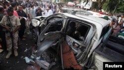 巴基斯坦總統的一名高級安全顧問在卡拉奇的一次自殺爆炸中身亡