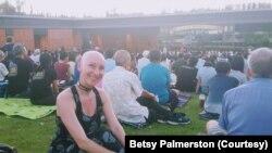 Canadian tourist Betsy Palmerston attended a symphony concert at Chulalongkorn University Centenary Park in Bangkok in January.