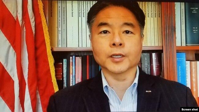 议员刘云平提议获百名议员支持:查司法部涉嫌对亚裔种族定性的行为