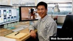 Tiến sĩ Trần Việt Hùng. Ảnh chụp màn hình trang web ictnews.com