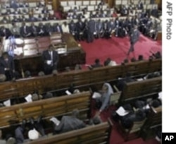 President Kibaki is scheduled to reopen parliament Tuesday.