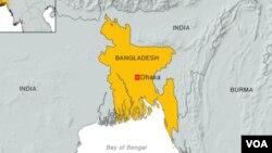 孟加拉国资料地图