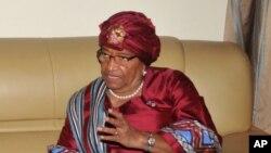 Shugabar Liberia Johnson Sirleaf