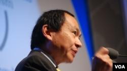 Francis Fukuyama, political scientist at Stanford University