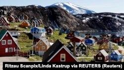 Tư liệu - Quang cảnh Upernavik ở tây Greenland, Đan Mạch, ngày 11 tháng 7, 2015