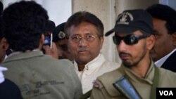 ສານ ປາກິສຖານ ສັ່ງໃຫ້ກັກບໍລິເວນ ອະດີດປະທານາທິບໍດີ Perez Musharraf ຈົນຮອດວັນທີ 30 ເດືອນເມສາ 