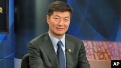 藏人行政中央首席部长洛桑森格(资料照片)