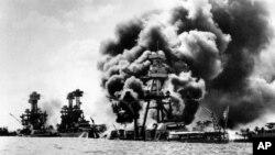 Cuộc tấn công vào Trân Châu Cảng do Nhật thực hiện đã lôi kéo Hoa Kỳ tham gia vào Chiến tranh Thế giới thứ Hai.