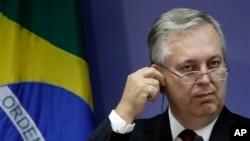 Ministros dos estrangeiros do Brasil Luiz Alberto Figueiredo Machado