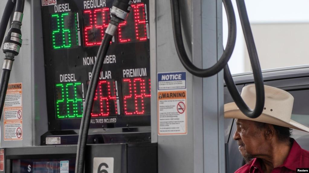 11 Mayıs 2021 - Virginia'nın Norfolk kentinde yakıt sıkıntısı yaşanan benzin istasyonlarından biri