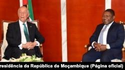 Presidente de Portugal, Marcelo Rebelo de Sousa, e Presidente de Moçambique, Filipe Nyusi, Maputo