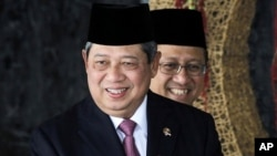 Indonesian President Susilo Bambang Yudhoyono (file photo)