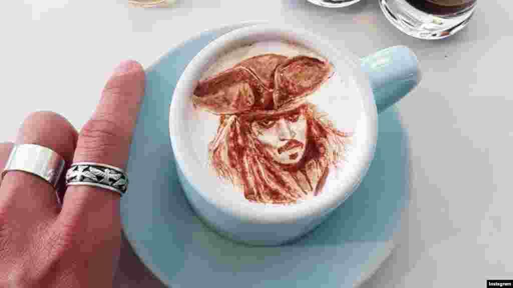 coffee art 3