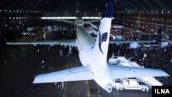 هواپیمای ایرباس جدید ایران در فرودگاه مهرآباد