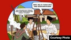 """Komik anak-anak revolusi """"Pop Con Asia"""". (Courtesy: Demokreatif)"""