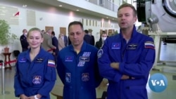 Russian Movie Crew Makes History in Space