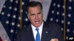 Calon Presiden AS dari Partai Republik, Mitt Romney (Foto: dok).
