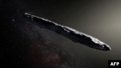 پراسرار چیز 'اومواموا' جس پر خلائی مخلوق کے راکٹ کا شبہ کیا جا رہا ہے۔