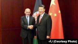 رئیس جمهور چین گفته است که افغانستان خط مقدم نبرد با دهشت افگنی است