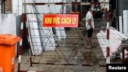 Thành phố Hồ Chí Minh áp dụng các biện pháp nghiêm ngặt nhằm phòng, chống dịch (ảnh tư liệu, 1/6/2021).