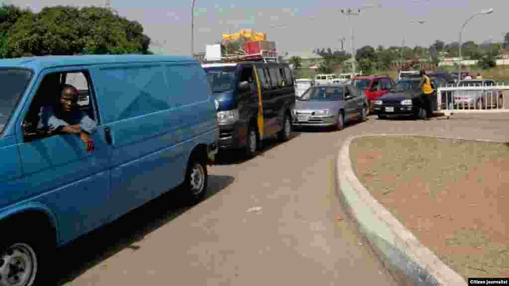 Layin Mai a gidan man NNPC Mega Station na Makurdi, Jihar Binuwai, Najeriya (Tijjani Mohammed)