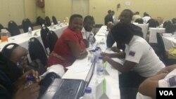 Basebenza ndawonye abatsha emhlanganweni koBulawayo