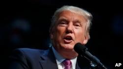 Donald Trump, candidat républicain à la Maison Blanche, 30 août 2016