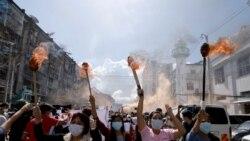 ျမန္မာ့ဒီမိုကေရစီအေရး အာဆီယံကို ကန္ဖိအားေပး