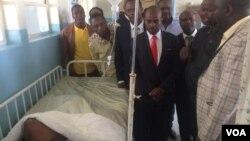 UMnu. Nelson Chamisa wethekelela isibhedlela seParirenyatwa Hospital.