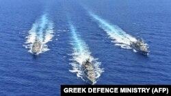 Manova ushtarake greke; Mesdheu lindor; 26 gusht 2020
