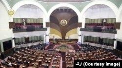 ساخت ساختمان جدید شورای ملی افغانستان در سال ۲۰۰۵ میلادی اغازشده بود.