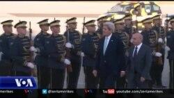 Jehona e vizitës së sekretarit Kerry në Prishtinë
