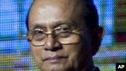 버마 대통령 테인 세인. (자료사진)