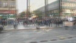 سرکوب دانشجويان معترض توسط پليس شيلی