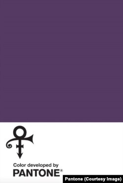 Love Symbol #2, a distinctive new purple shade created by Pantone in memory of Prince, 'the purple one.'