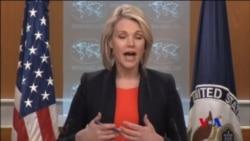 """美國稱俄羅斯大馬士革郊區設人道走廊之說是""""笑話"""" (粵語)"""