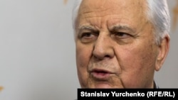 Former Ukrainian President Leonid Kravchuk says his nation must find a peaceful solution to the conflict in the east.