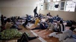 بدرفتاری با زندانيان در ليبی
