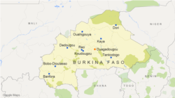Le ministre des Affaires étrangères du Burkina Faso, Alpha Barry
