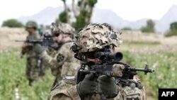 지난 4월 아프가니스탄 남부 칸다하르 지역에서 수색 임무 중인 미군들.