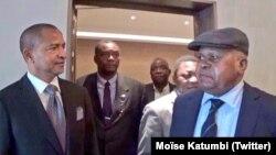 Photo publiée le 7 juillet 2016 sur le compte twitter de Moïse Katumbi.