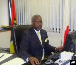 Belmiro Malate, embaixador de Moçambique no Japão