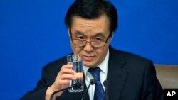 中国商务部长高虎城(资料照片)