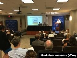 Vashingtondagi Jons Hopkins Universitetida forum, 8-iyun, 2016